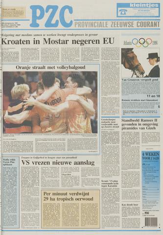 Provinciale Zeeuwse Courant 1996-08-05