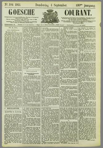 Goessche Courant 1913-09-04