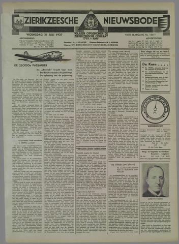 Zierikzeesche Nieuwsbode 1937-07-21