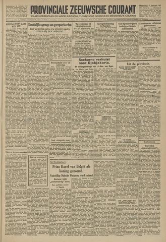 Provinciale Zeeuwse Courant 1946-01-07