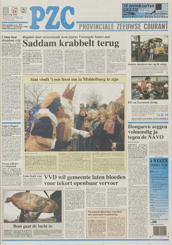 Provinciale Zeeuwse Courant 1997-11-17