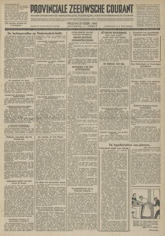 Provinciale Zeeuwse Courant 1942-02-27