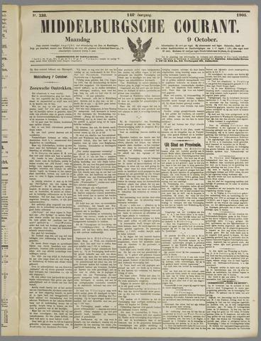 Middelburgsche Courant 1905-10-09