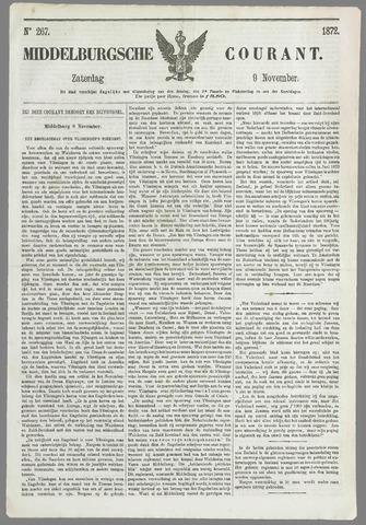 Middelburgsche Courant 1872-11-09