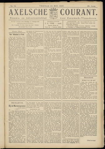 Axelsche Courant 1937-05-21