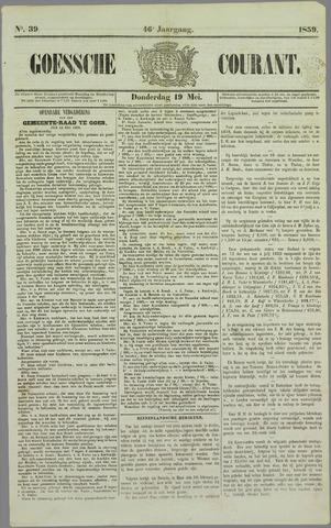 Goessche Courant 1859-05-19