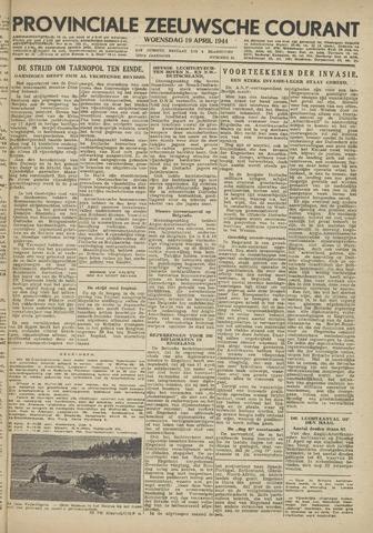 Provinciale Zeeuwse Courant 1944-04-19
