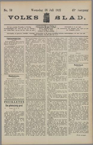 Volksblad 1922-07-26