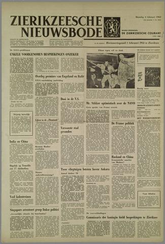 Zierikzeesche Nieuwsbode 1963-02-04