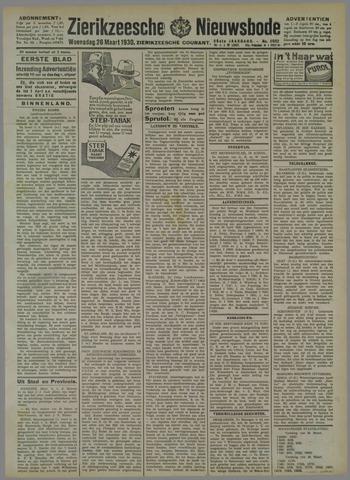 Zierikzeesche Nieuwsbode 1930-03-26
