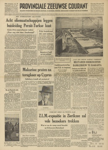 Provinciale Zeeuwse Courant 1957-03-30