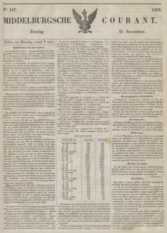 Middelburgsche Courant 1866-11-25