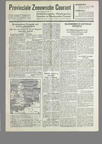 Provinciale Zeeuwse Courant 1940-08-13