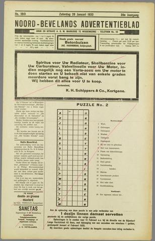 Noord-Bevelands Nieuws- en advertentieblad 1933-01-28