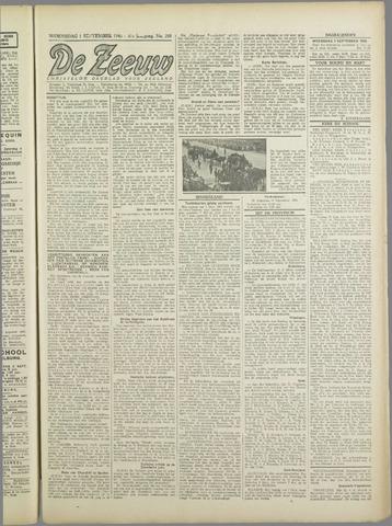 De Zeeuw. Christelijk-historisch nieuwsblad voor Zeeland 1943-09-01