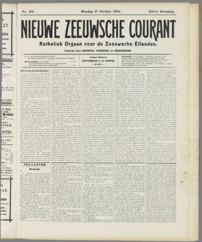 Nieuwe Zeeuwsche Courant 1905-10-17
