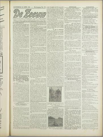 De Zeeuw. Christelijk-historisch nieuwsblad voor Zeeland 1944-04-20