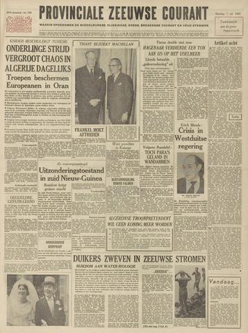 Provinciale Zeeuwse Courant 1962-07-07