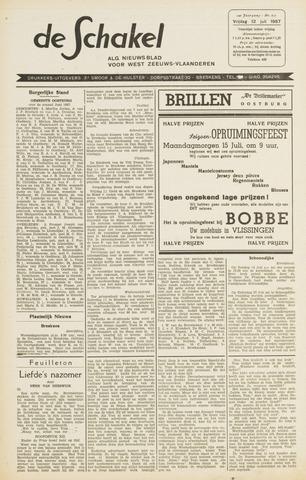 De Schakel 1957-07-12