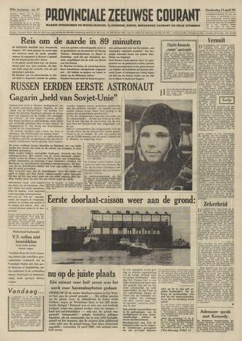 Provinciale Zeeuwse Courant 1961-04-13