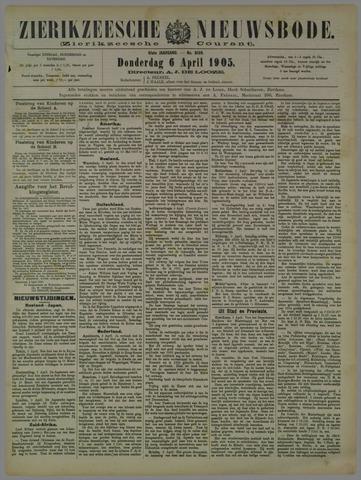 Zierikzeesche Nieuwsbode 1905-04-06