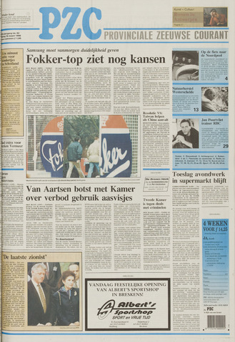Provinciale Zeeuwse Courant 1996-03-15