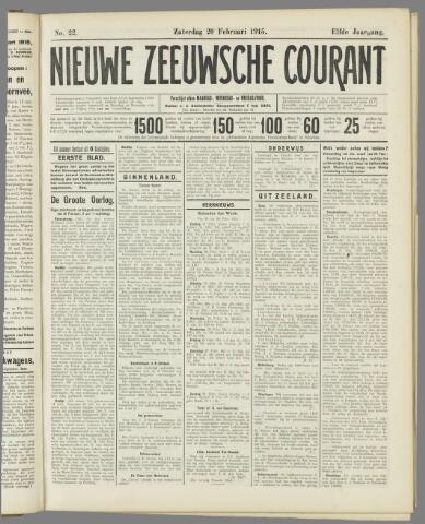 Nieuwe Zeeuwsche Courant 1915-02-20