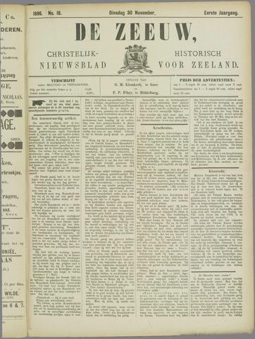 De Zeeuw. Christelijk-historisch nieuwsblad voor Zeeland 1886-11-30