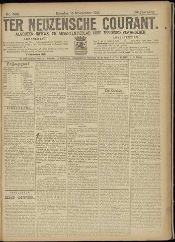 Ter Neuzensche Courant. Algemeen Nieuws- en Advertentieblad voor Zeeuwsch-Vlaanderen / Neuzensche Courant ... (idem) / (Algemeen) nieuws en advertentieblad voor Zeeuwsch-Vlaanderen 1915-11-16
