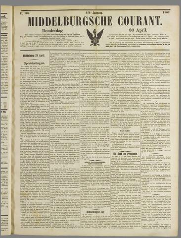Middelburgsche Courant 1908-04-30