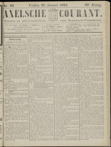 Axelsche Courant 1924-01-25