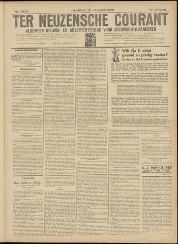 Ter Neuzensche Courant. Algemeen Nieuws- en Advertentieblad voor Zeeuwsch-Vlaanderen / Neuzensche Courant ... (idem) / (Algemeen) nieuws en advertentieblad voor Zeeuwsch-Vlaanderen 1936-01-27