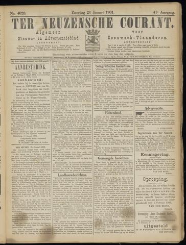 Ter Neuzensche Courant. Algemeen Nieuws- en Advertentieblad voor Zeeuwsch-Vlaanderen / Neuzensche Courant ... (idem) / (Algemeen) nieuws en advertentieblad voor Zeeuwsch-Vlaanderen 1901-01-26