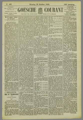 Goessche Courant 1919-10-28
