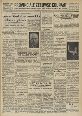 Provinciale Zeeuwse Courant 1951-09-13