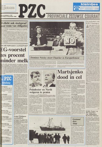 Provinciale Zeeuwse Courant 1986-12-10
