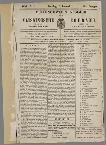 Vlissingse Courant 1878