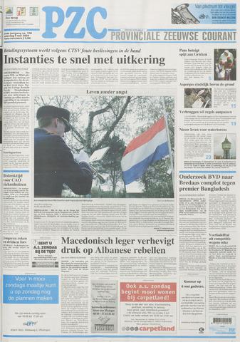 Provinciale Zeeuwse Courant 2001-05-05