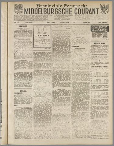 Middelburgsche Courant 1932-12-12