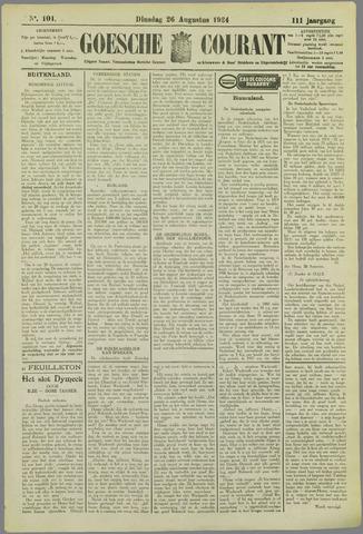 Goessche Courant 1924-08-26