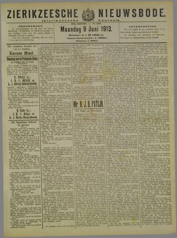 Zierikzeesche Nieuwsbode 1913-06-09