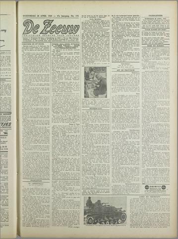 De Zeeuw. Christelijk-historisch nieuwsblad voor Zeeland 1943-04-28