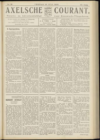Axelsche Courant 1939-07-28