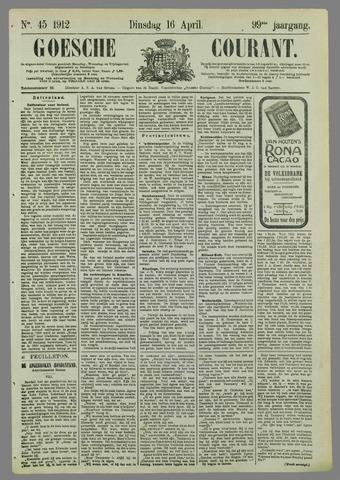Goessche Courant 1912-04-16
