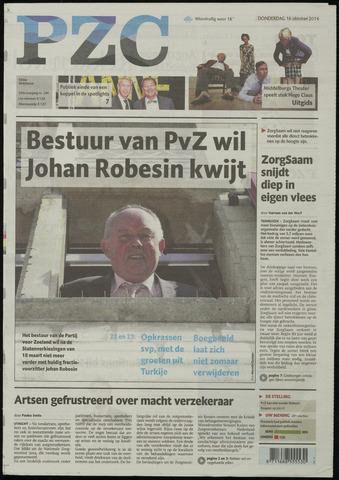Provinciale Zeeuwse Courant 2014-10-16