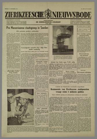 Zierikzeesche Nieuwsbode 1958-11-18