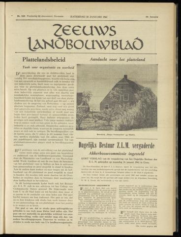 Zeeuwsch landbouwblad ... ZLM land- en tuinbouwblad 1961-01-21