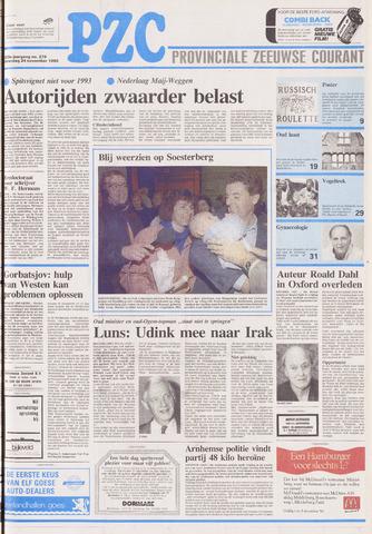 Provinciale Zeeuwse Courant 1990-11-24