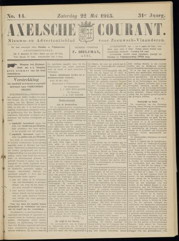 Axelsche Courant 1915-05-22