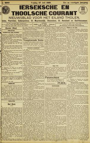 Ierseksche en Thoolsche Courant 1928-07-27